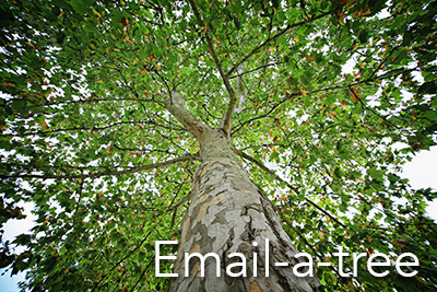 Email-a-tree