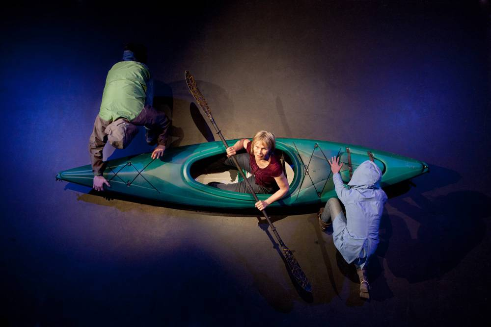 Kayak, a play in response to climate change