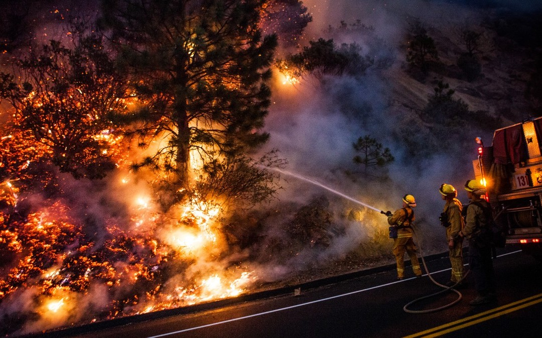 Telling the story of wildfires, with photography