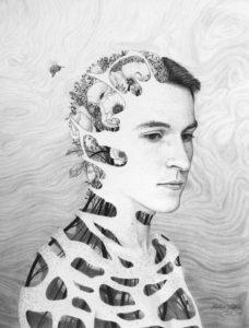 Self Portrait Human Nature, Nathan Watkins