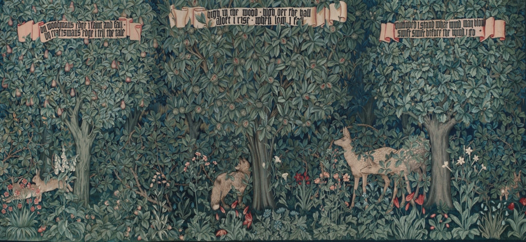 """Greenery"" by William Morris, 1892"