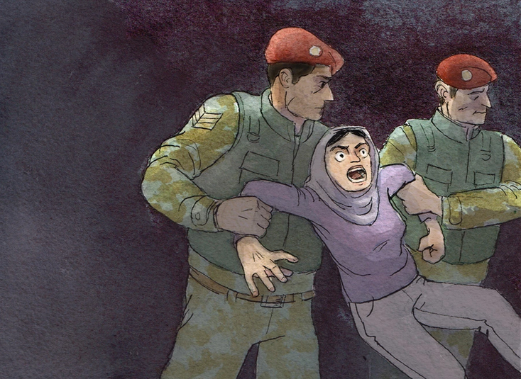 Graphic short story about the Syrian crisis